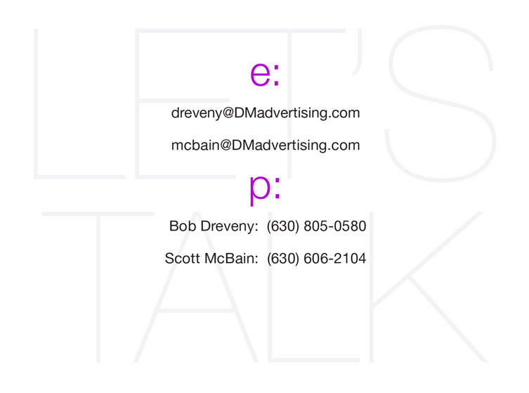 ContactDMadvertising